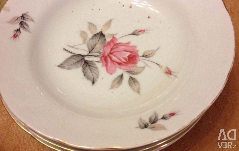 Plates china porcelain