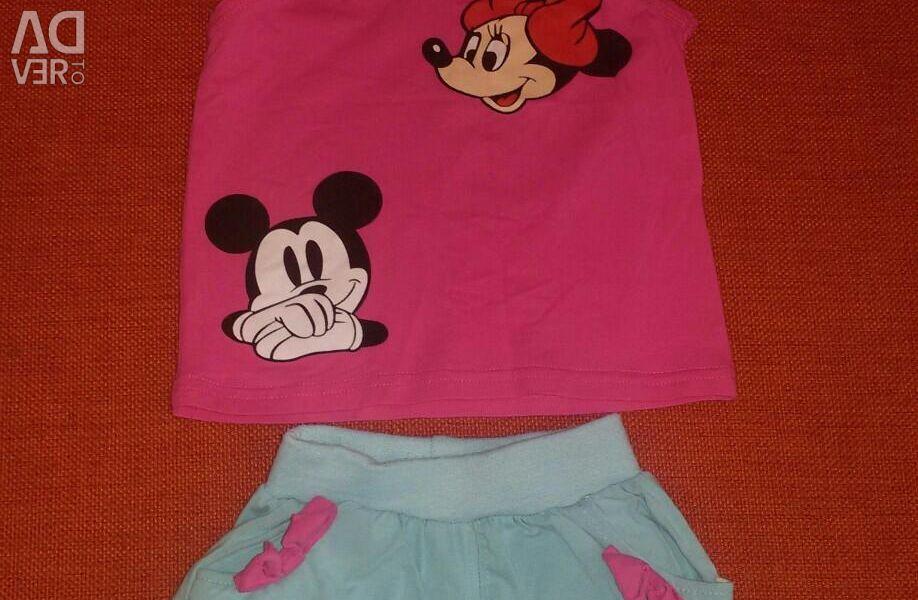 Shorts, T-shirt, p.98