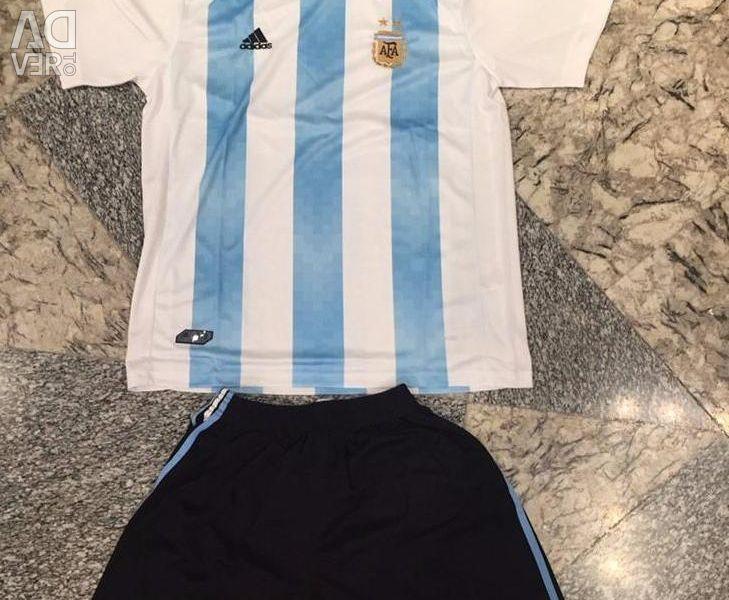 Argentina Football Uniform