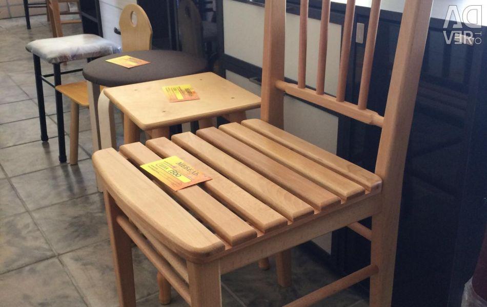 Ahşap sandalye Yeni. Hızlı teslimat. Garantili.