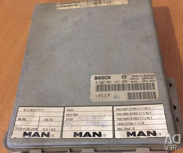 Engine control unit MAN F2000 0281001347