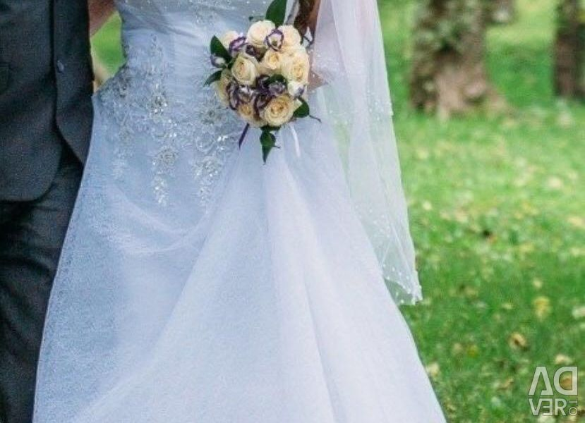 Wedding dress 52-56 with delivery