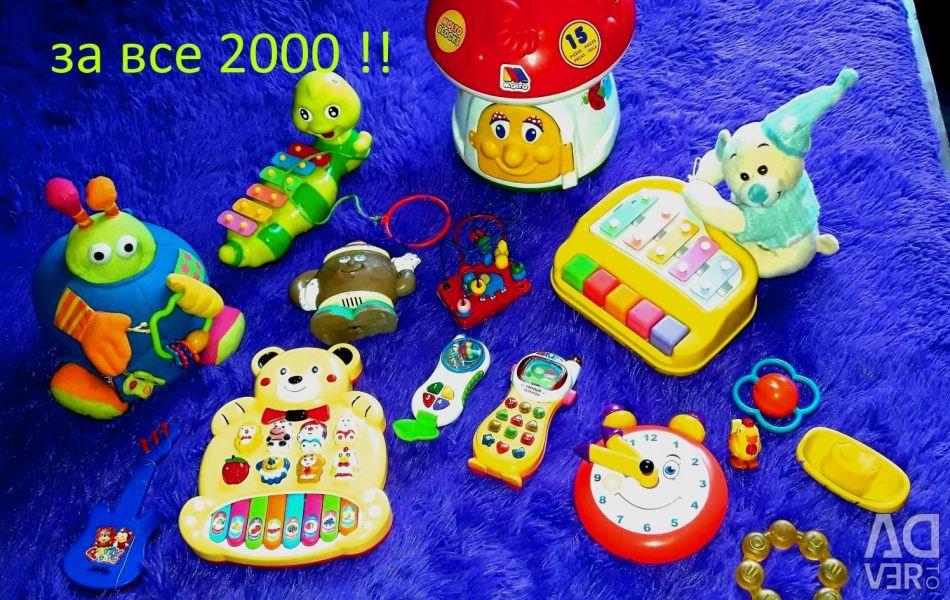 Paket eğitici oyuncaklar