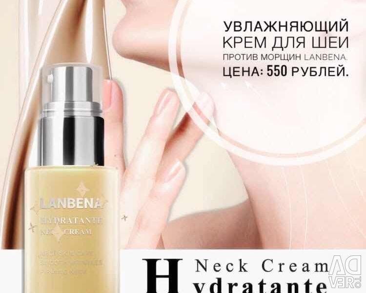 Moisturizing neck cream anti-wrinkle LANBENA
