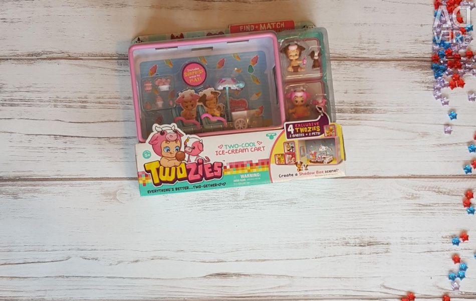 Η δουλειά του καφέ Twosiez παιχνίδι Mini Doll