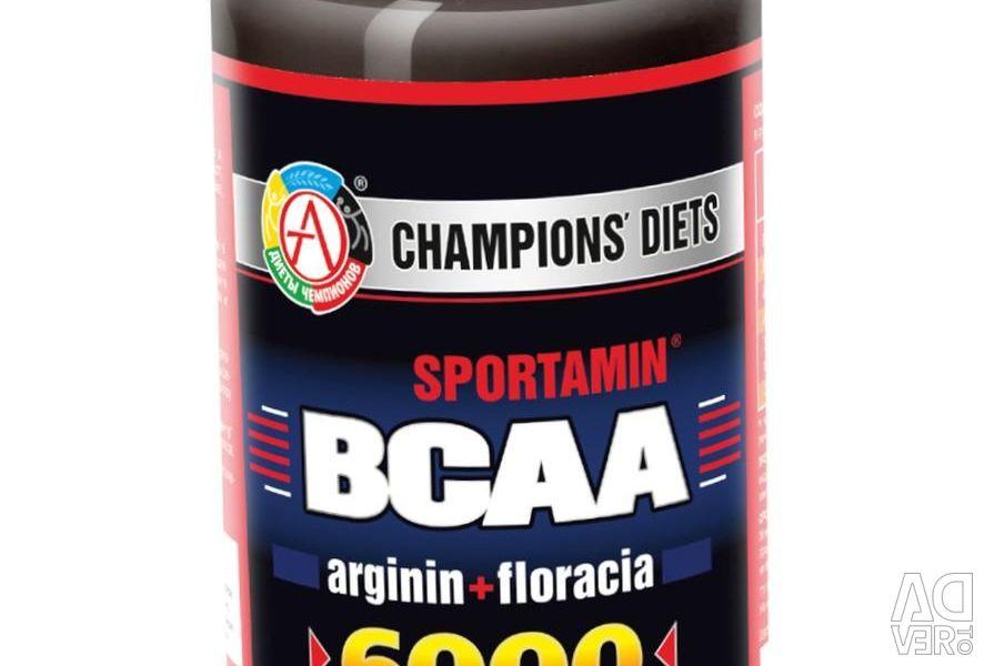 Amino acids BCAA 6000 SPORTAMIN 180 caps.