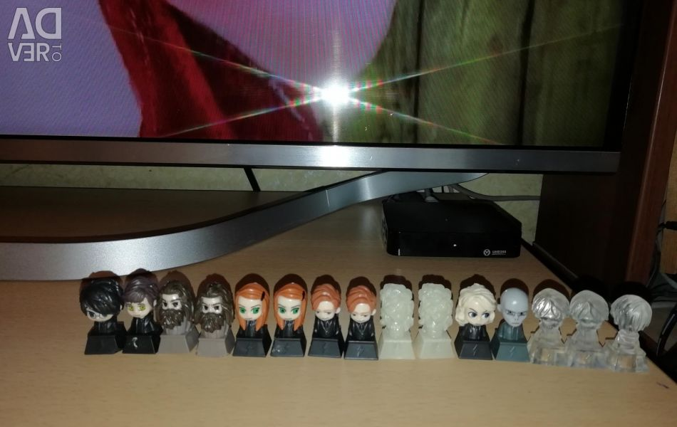 Figurines harry rubbed