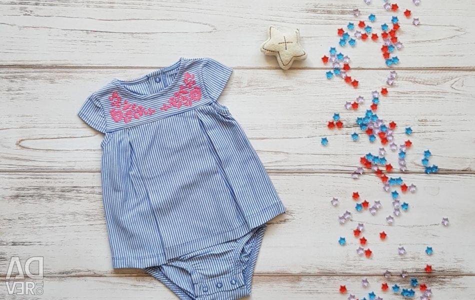 Carters Carters φόρεμα σώματος νέο μπλουζάκι