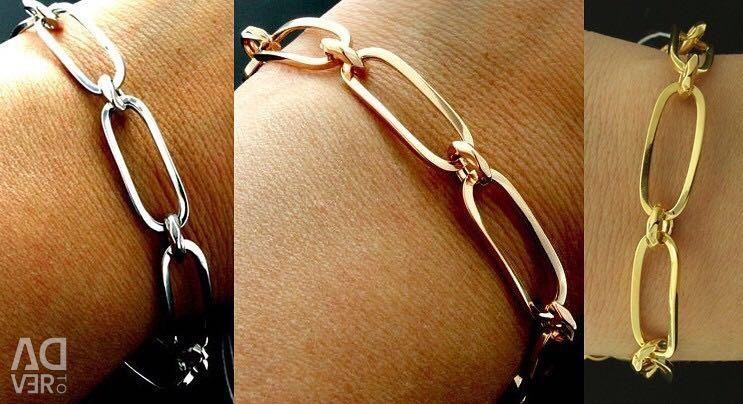 Silver 925 standard. Bracelet