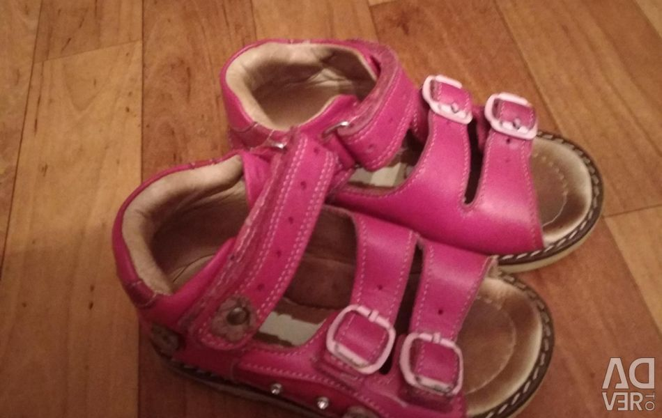 I will sell sandals 21 size