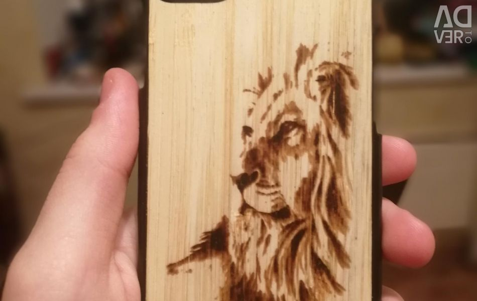 Individually engraved wooden covers