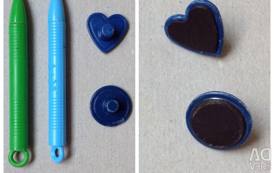 Μαγνητική στυλό και σχέδιο εκτύπωσης