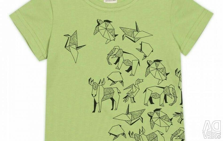 T-shirt new, light green