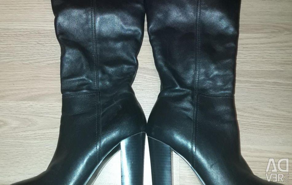 Boots leather natur demi season p. 36