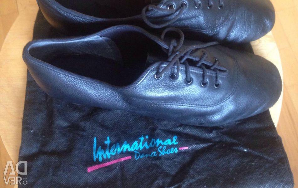 Latin ballroom dancing shoes