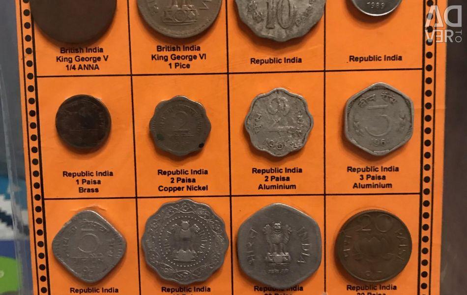 Σετ νομισμάτων Ινδία (goa)