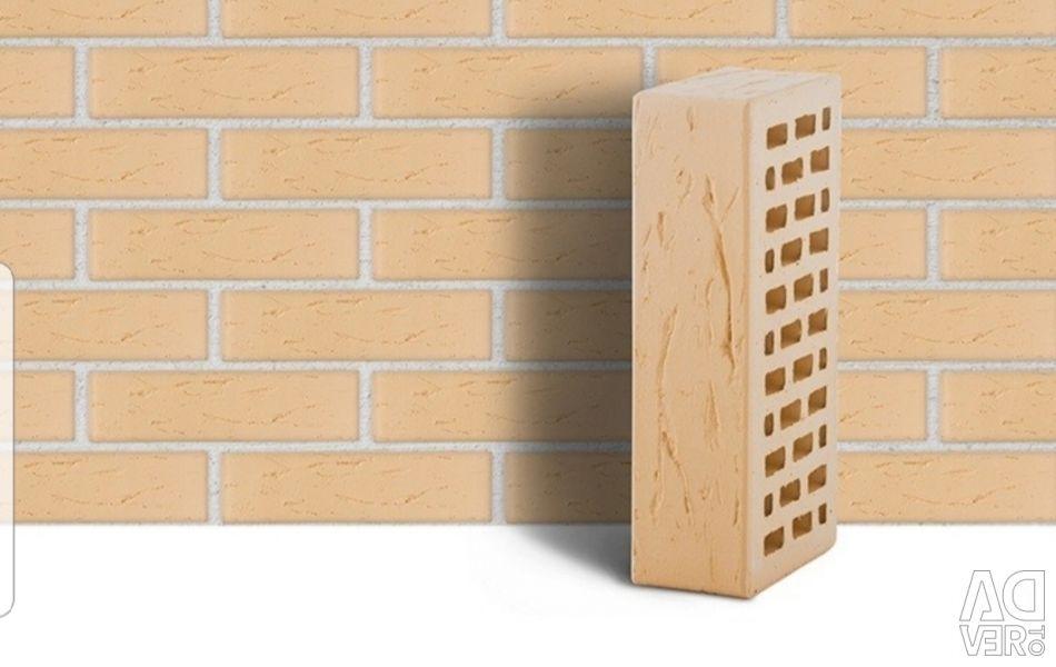 Facing brick.