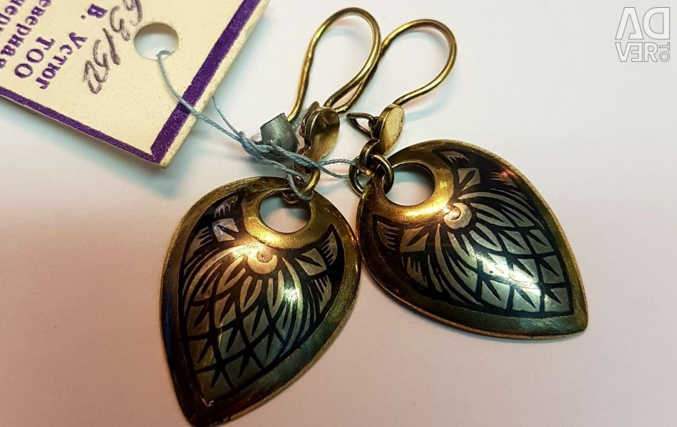 Earrings Silver 925 standard. New with tag
