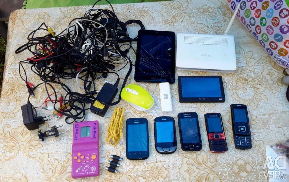 Încărcare. telefoane. router. tabletă, etc