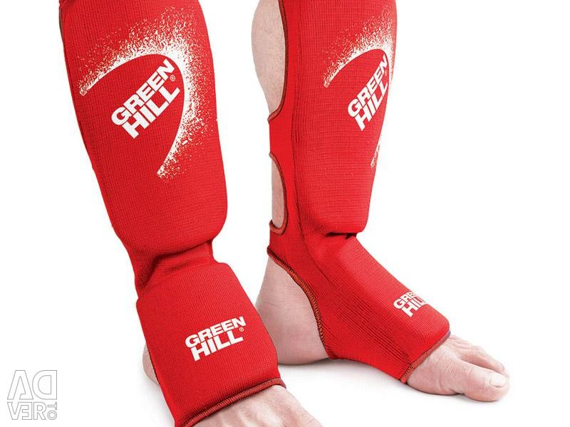 FABRIC PROTECTION OF FOOT GREEN HILL ELASTICK RED