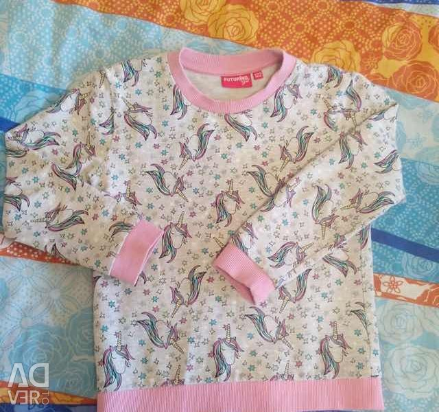 Bluză imprimă unicorn