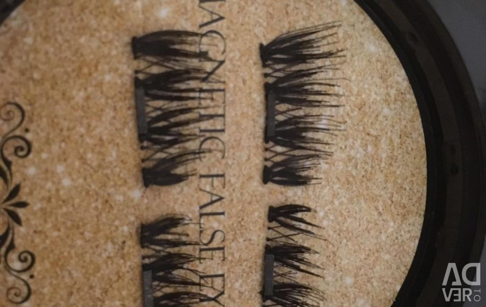 Magnetic lashes for volume
