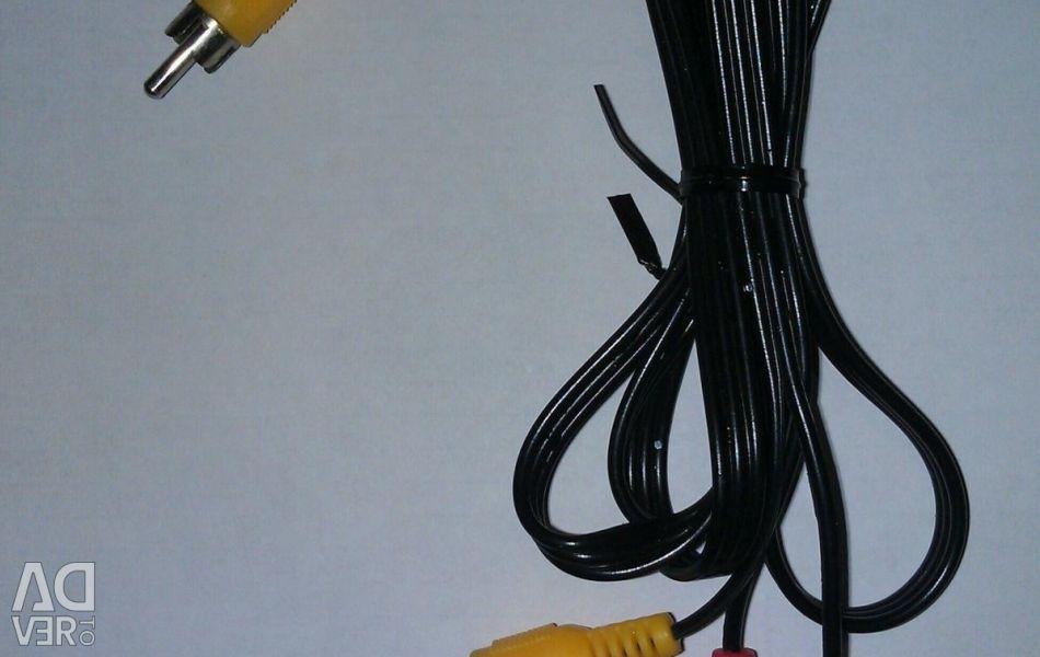 Cablu interbloc audio / video compozit