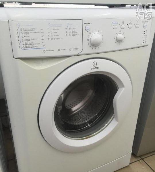 Πλυντήριο ρούχων Indezit.