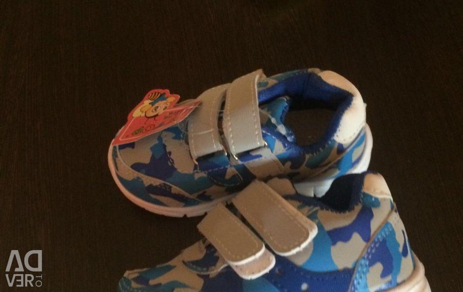 Yeni spor ayakkabı, 21 beden