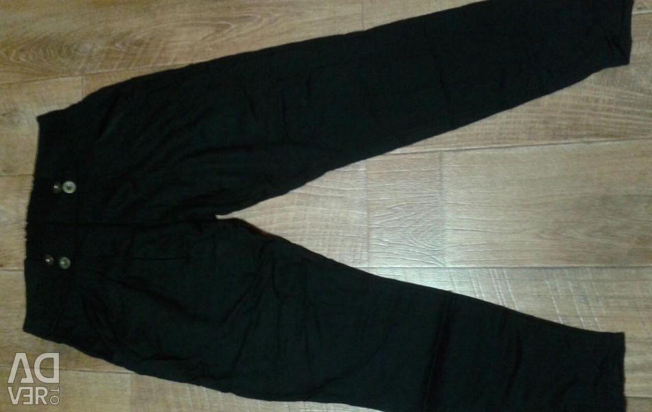 Pantaloni de sex feminin r 46-48 un fund pe benzi elastice