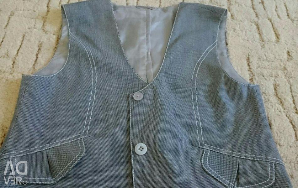 School vest.