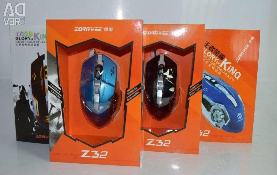 Νέο ποντίκι παιχνιδιών ποντικιού τυχερού παιχνιδιού Z32 018736
