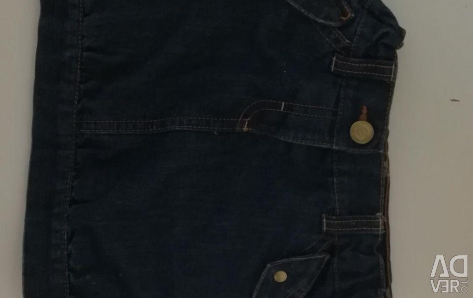 Denim skirt ideally 92-98