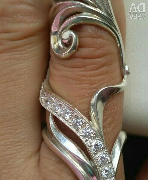 Ring new Yakut silver 925