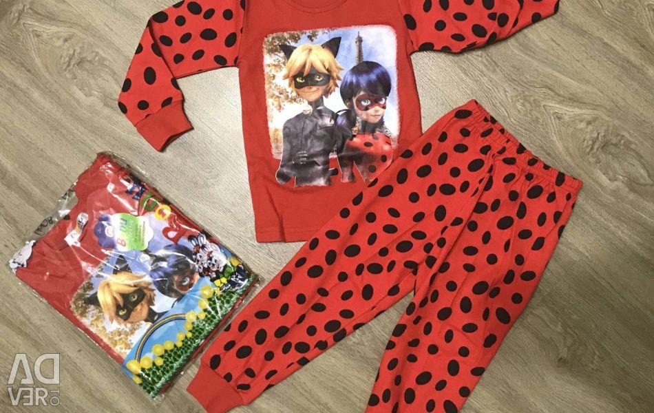 Pajamas lady bug