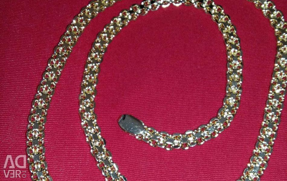 Chain gold imitation jewelry