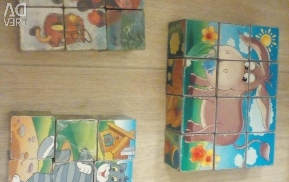 Cubes add a picture