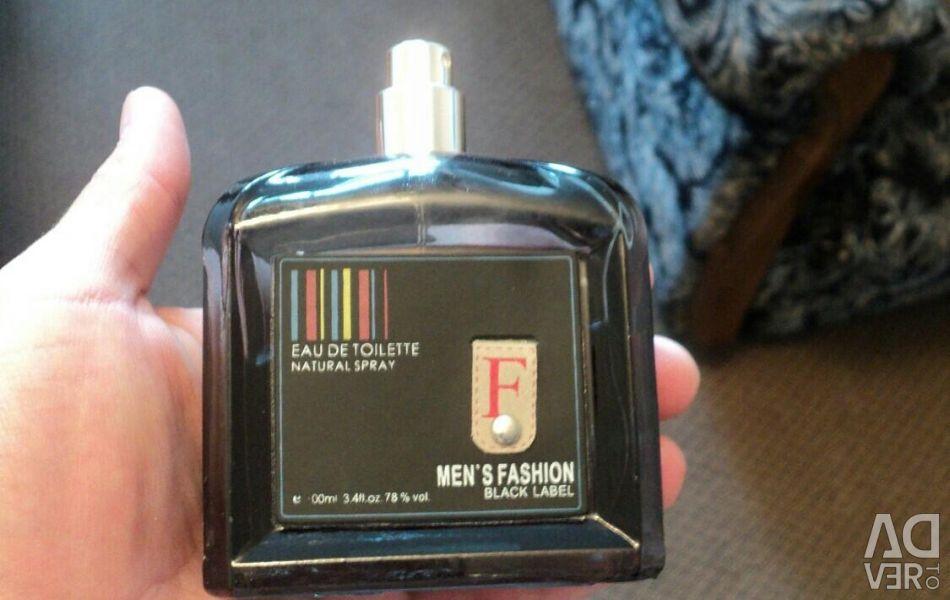 Men's fashion black label 100мл