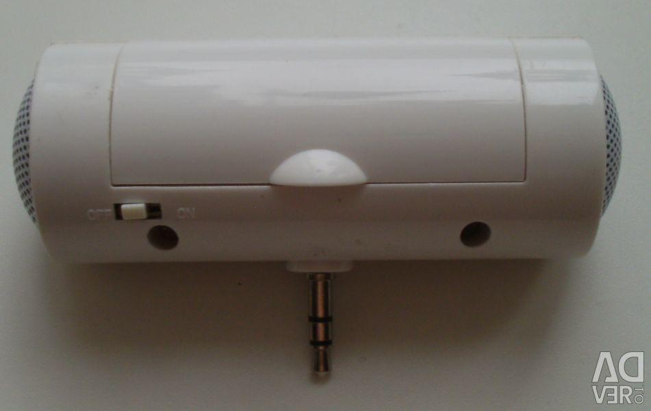 Difuzor extern pentru smartphone-uri și alte dispozitive gadget.