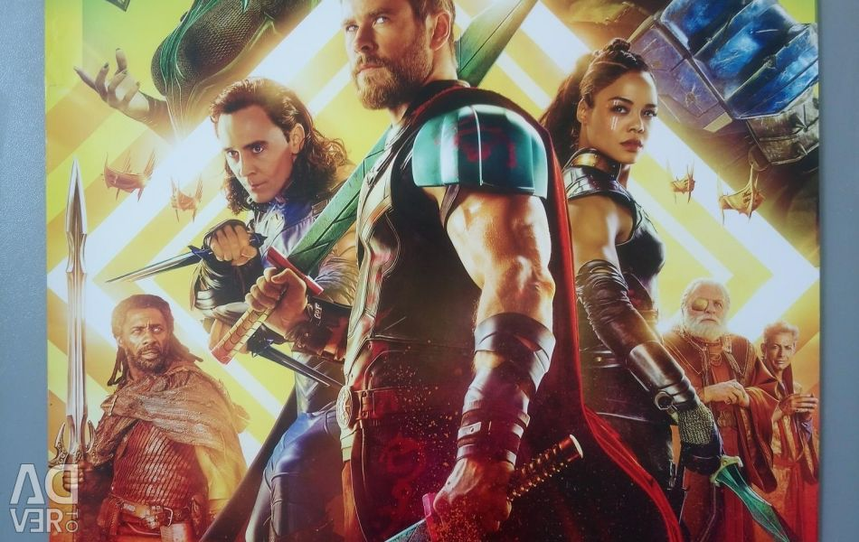 Poster / poster / poster of Thor. Marvel.