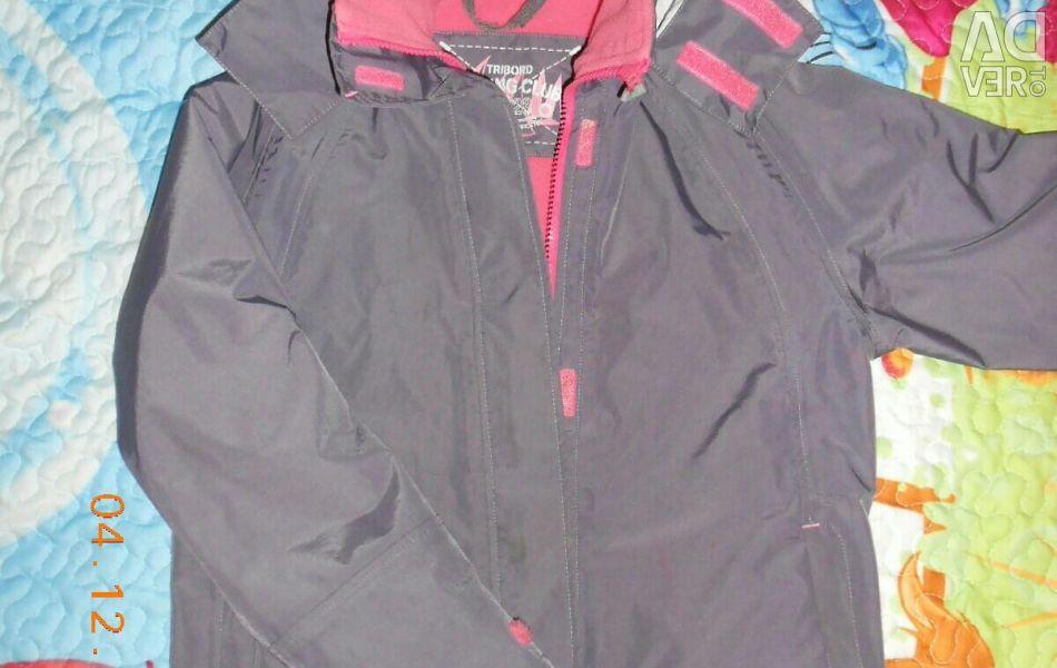 Фірмова мембранна куртка на зростання 130-140 см.