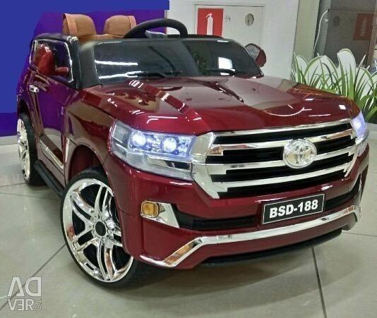 Children's electric car Toyota Land B111BB Red