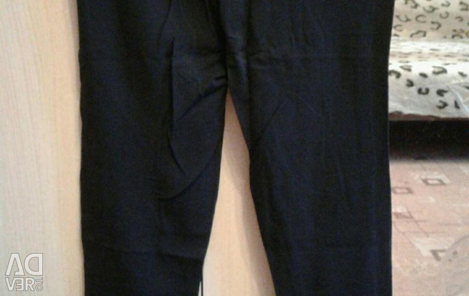Black pants for training. Leggings