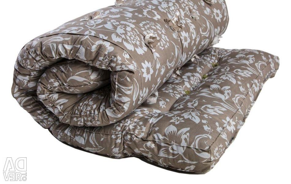 Wadded mattress