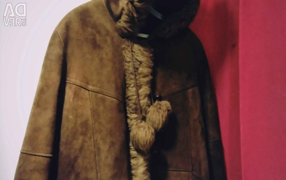 Sheepskin coat natural fur for children import.