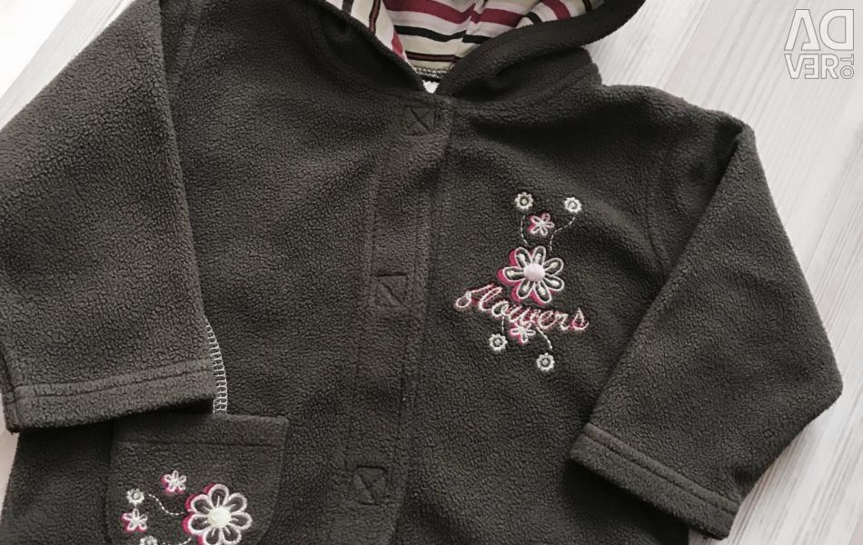 Jacket fleece 1-2 years