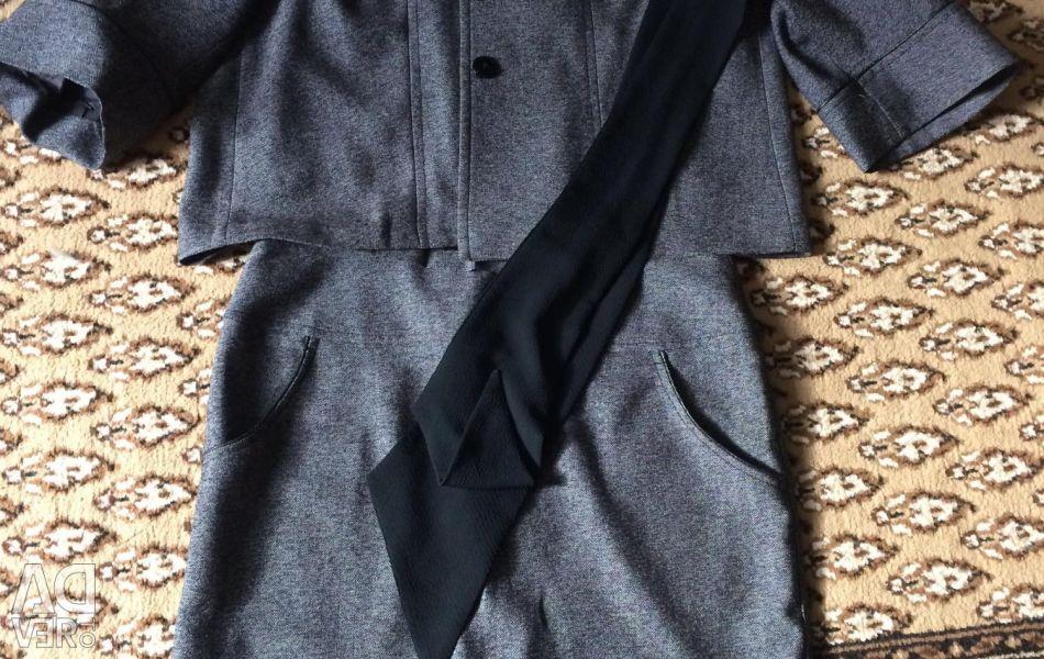 Skirt, jacket