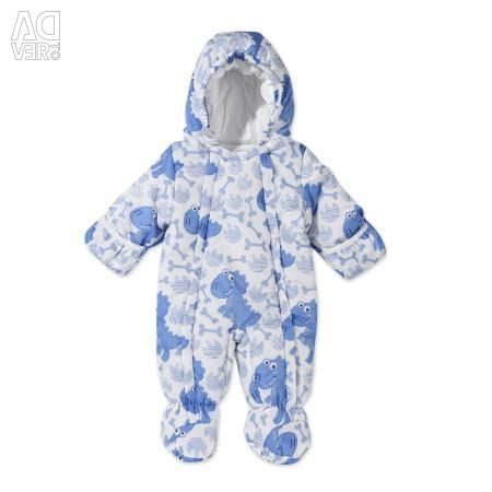 New Babybol winter overalls solutions 74 and 80