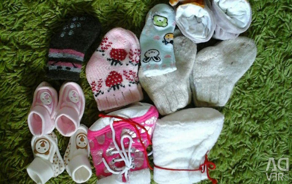 Носочки-пинетки(цена за всe)
