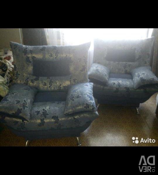 2 крісла